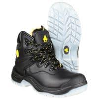 Amblers Safety FS198 Waterproof Safety Footwear Black